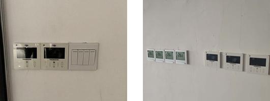 菲捷尔温控器安装实拍